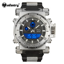 Load image into Gallery viewer, INFANTRY IN-050 Mens Watches Top Brand Luxury Analog Digital Watch Men