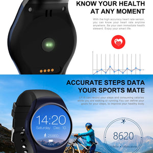 LEMFO KW18 Bluetooth smart watch full screen Support SIM TF Card
