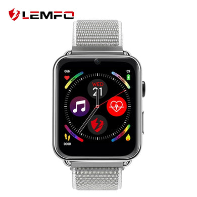 LEMFO LEM10 LTE 4G Smart Watch Android 7.1 1.82 Inch Big Screen 3GB + 32GB Sim Camera 700mah Battery Smartwatch Men Women LEM 10