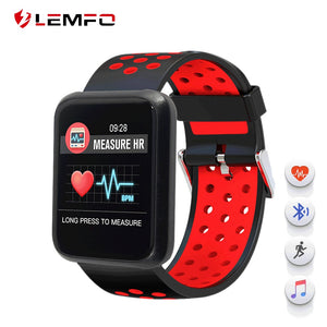 LEMFO Sport 3 Smart Watch Blood Pressure Men Heart Rate IP67 Waterproof Bluetooth