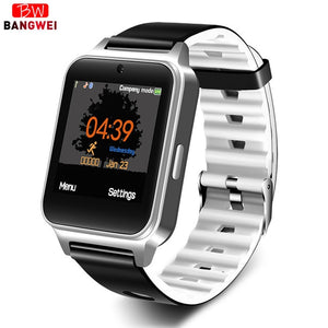 LIGE Brand Men Smart Bracelet Waterproof Sport Pedometer Clock LED Large Screen Digital Watch Touch Screen Support TF SIM Card