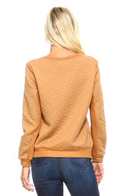Load image into Gallery viewer, Women's Sweatshirt with Side Zippers