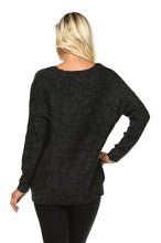 Load image into Gallery viewer, Women's Loose Knit Sweater with Stud Detail