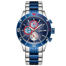 Load image into Gallery viewer, NAVIFORCE Men Watch Top Brand Big Dial Sport Watches Men's Luxury Quartz Wristwatch Chronograph Male Clock Relogio Masculino