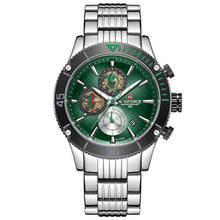 Load image into Gallery viewer, NAVIFORCE Men's Watches Top Brand Luxury Steel Quartz Men Wrist Watch Sports Chronograph Clock Male Analog Relogio Masculino