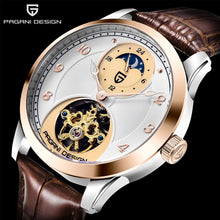 Load image into Gallery viewer, PAGANI DESIGN Men Watch Tourbillon Automatic Mechanical Moon Phase Top Brand Mens Luxury Sports Clock Wirstwatch Reloj Hombres