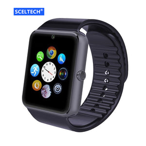 QAQFIT Bluetooth Smart Watch Men GT08 With Touch Screen Big Battery