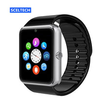 Load image into Gallery viewer, QAQFIT Bluetooth Smart Watch Men GT08 With Touch Screen Big Battery Support TF Sim Card Camera For IOS iPhone Android Phone