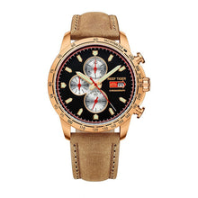 Load image into Gallery viewer, Reef Tiger/RT Luminous Sport Watch for Men  with Date Steel Watch with Luminous Markers Chronograph Quartz Watches RGA3029