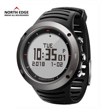 Load image into Gallery viewer, Relogio Masculino North Edge Men's Sport Smart Digital Army Militray Watches 5 ATM Waterproof fish thermometer climbing clock