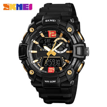 Load image into Gallery viewer, SKMEI Military Sports Watches Men Fashion Dual Display Digital Watch Waterproof Luminous Quartz Wristwatch montre homme 1529