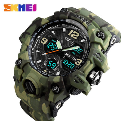SKMEI Top Brand Luxury Sport Watch Men Fashion Outdoor LED Digital Man Wristwatches Waterproof Military Clock Relogio Masculino