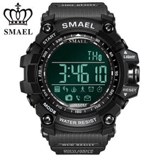 Load image into Gallery viewer, SMAEL Bluetooth Smart Watch Men Sport Intelligent Pedometer Fitness Watches for iPhone Android 50M Swim Digital Clock Relogio
