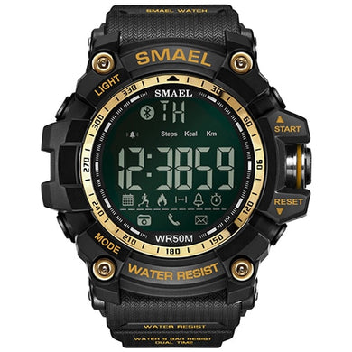 SMAEL Smart Watch Men Waterproof in 50 Meters Military Army