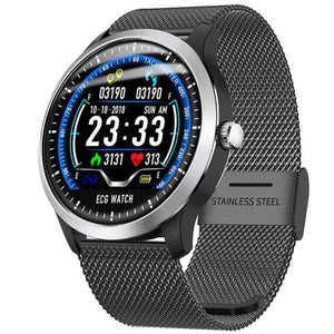 Smartwatch N58 Smart Watch Sports Watch ECG+PPG HRV Report Heart Rate Blood Pressure Test IP67 Waterproof Smart Wristband