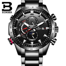 Load image into Gallery viewer, Switzerland Genuine Luxury BINGER Watch Men's Mechanical Watch Fashion Sports Luminous Waterproof Running Automatic Watches Men