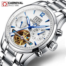 Load image into Gallery viewer, Switzerland Mechanical Watch Men Sapphire Carnival Luxury Brand Waterproof Men's Watches Waterproof Luminous Tourbillon Clock
