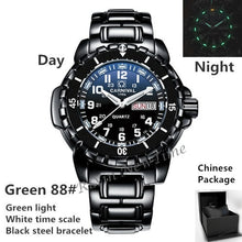 Load image into Gallery viewer, T25 tritium luminous men watches Waterproof200m military diving sports quartz watch men luxury brand clock erkek kol saati reloj