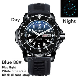 T25 tritium luminous men watches Waterproof200m military diving sports quartz watch men luxury brand clock erkek kol saati reloj