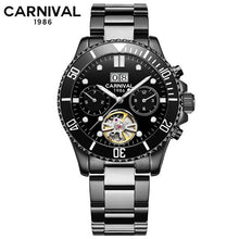 Load image into Gallery viewer, Tourbillon Mechanical Watches Men Top Luxury Brand Carnival Watch Sports Automatic Watches Waterproof Men Watch Relogio Luminous