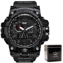 Load image into Gallery viewer, SMAEL Top Brand Luxury Men Digital LED Military Analog Watches