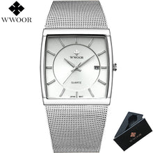 Load image into Gallery viewer, WWOOR Men Waterproof Quartz Watch Men Watches Top Brand Luxury