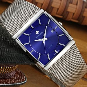 WWOOR Men Waterproof Quartz Watch Men Watches Top Brand Luxury