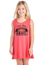 Load image into Gallery viewer, Tis The Season W Football Design Sleeveless A
