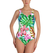 Load image into Gallery viewer, Tropical blossom Women's swimsuit