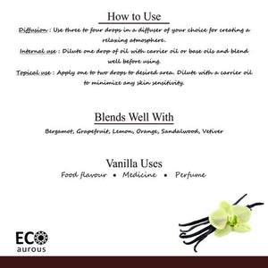 Vanilla Essential Oil| Vanilla Oil For Skin|