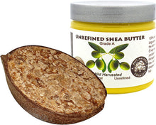 Load image into Gallery viewer, Set of Pure shea butter unrefined 4oz / 120 ml and