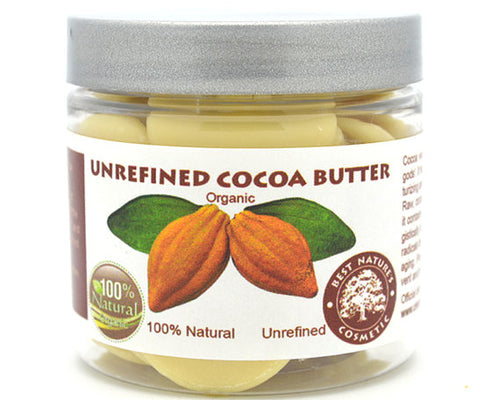 Pure Natural Cocoa Butter Organic Wafers Unrefined