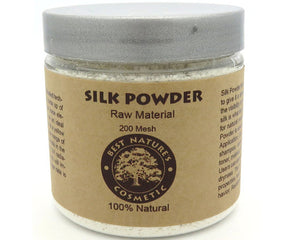 Silk Powder Natural for make-up, the glowing