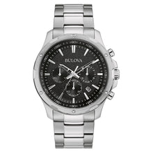 Load image into Gallery viewer, Bulova Chronograph Stainless Steel Men's Watch