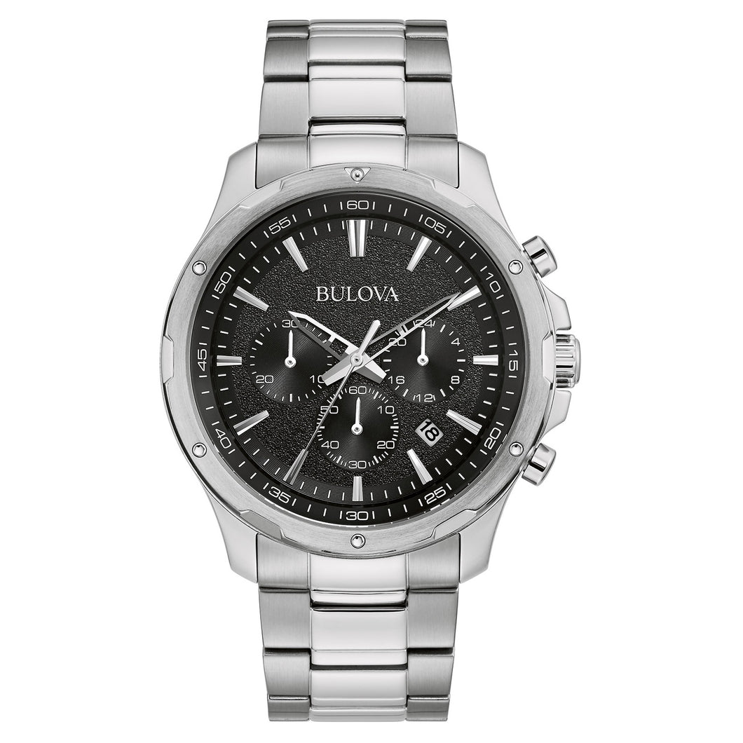Bulova Chronograph Stainless Steel Men's Watch