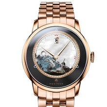 Load image into Gallery viewer, mens watch,men automatic watches PONIGER dress waterproof man self wind mechanical wristwatch top brand luxury relogio masculino