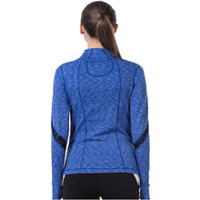 Load image into Gallery viewer, Women Yoga Jacket Fitness Running Shirt For Women Sportswear Elastic Tight Gym Roupa de Academia Zipper Fitness Clothes