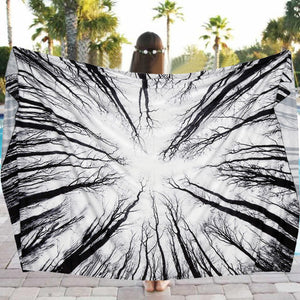 Women Sexy Beach Pool Home Shower Towel Blanket Table Cloth Yoga Mat seaside   Towel #10