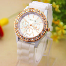 Load image into Gallery viewer, Analog Quartz Wrist Watch Jellyen Crystal Silicone Watch