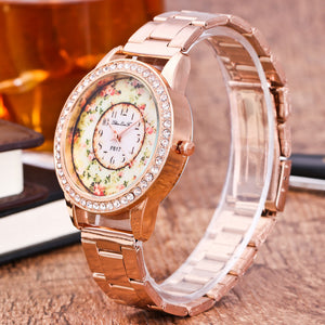 Fashion Unisex Watches Quartz Trendy Wrist Watch Stainless Steel Watches