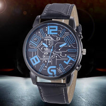 Load image into Gallery viewer, Luxury Men's Leather Strap Analog Quartz Sports Wrist Watch Watches