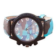 Load image into Gallery viewer, Fashion Camouflage Auartz Watch