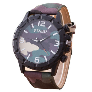 Fashion Camouflage Auartz Watch