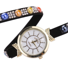 Load image into Gallery viewer, Fashion Leisure Womens Quartz Watch Crystal Diamond Wrist Watch