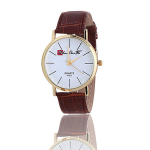 Classic Woman Watch Sports Watch Analog Leather Quartz Wrist Watch