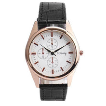 Load image into Gallery viewer, New Fashion Leather Watches Men Quartz Watch