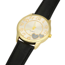 Load image into Gallery viewer, Women Leather Band Analog Quartz Round Wrist Watch Watches