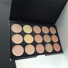 Load image into Gallery viewer, Professional Heat-resistant 15 Colors Concealer Camouflage Makeup Palette 2#