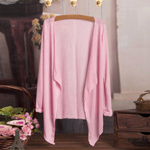 Load image into Gallery viewer, Summer Women Long Thin Cardigan Modal Sun Protection Clothing Tops