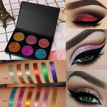 Load image into Gallery viewer, Shimmer Glitter Eye Shadow Powder Palette Matte Eyeshadow Cosmetic Makeup
